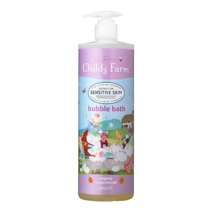 Childs Farm Bubble Bath, Organic Tangerine 500ml