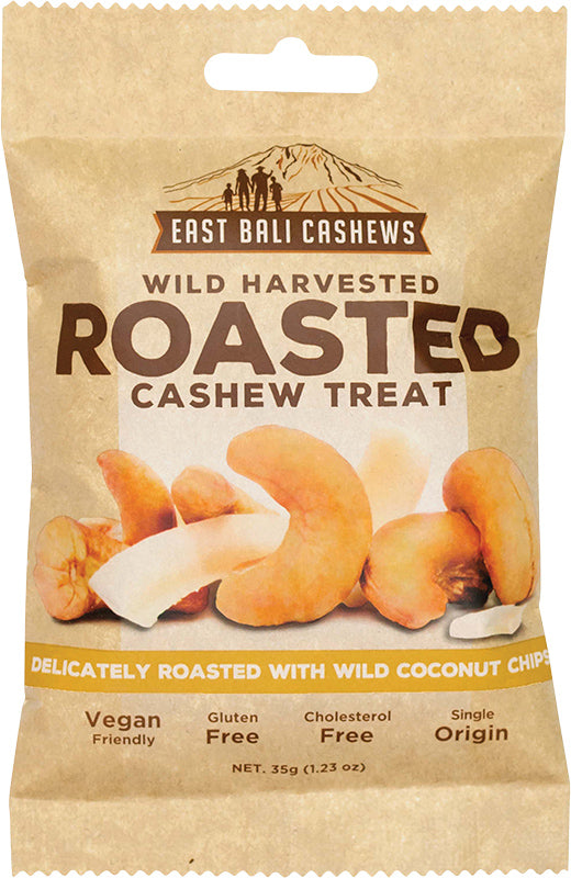 EAST BALI CASHEWS Roasted Cashew Treat 35g