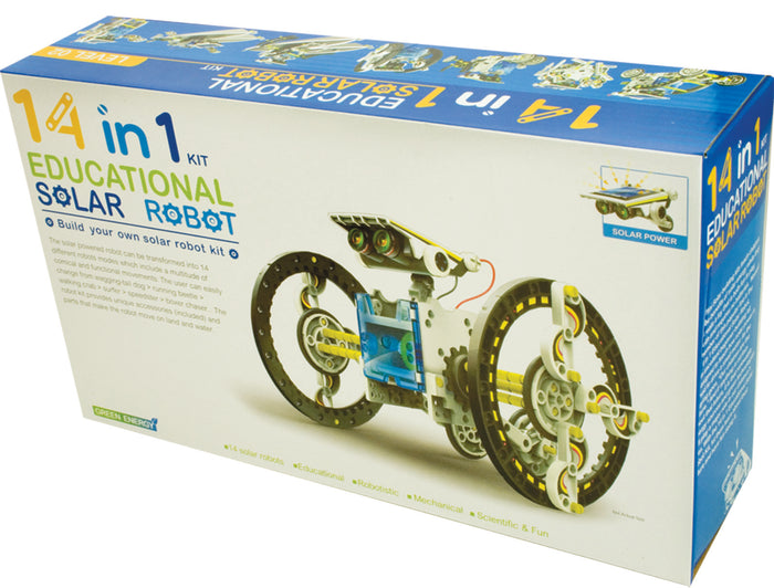 CIC 14 IN 1 EDUCATIONAL SOLAR ROBOT