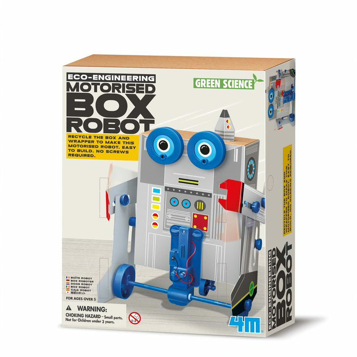 4M GREEN SCIENCE BOX ROBOT