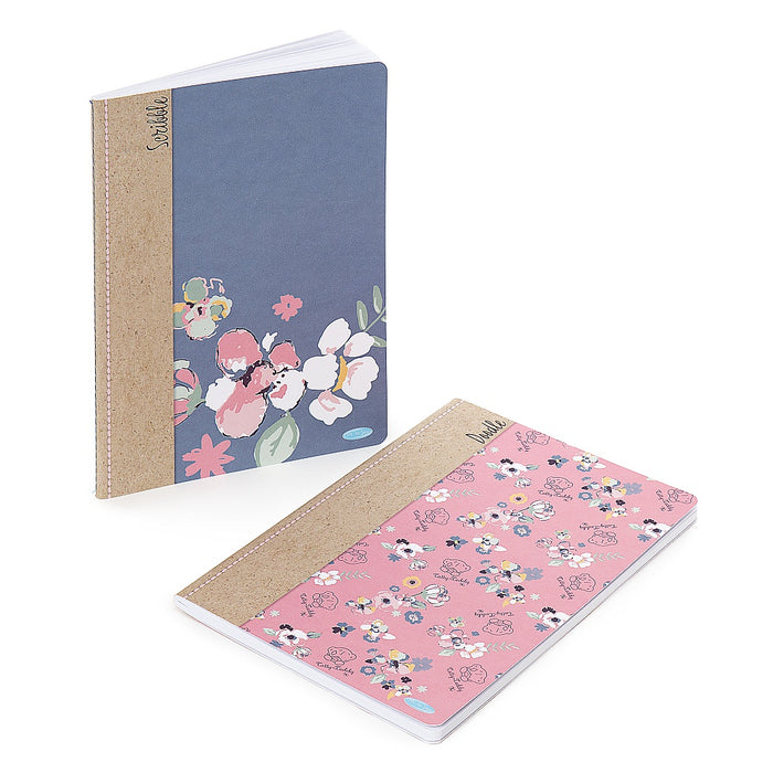 A5 2 PACK SOFTBACK NOTEBOOK 80 PAGES EACH