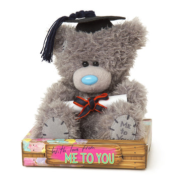 GRADUATION SITTING BEAR 18CM