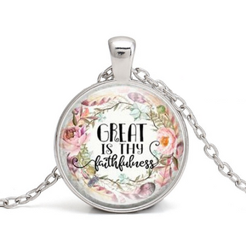 Great Is Thy Faithfulness Necklace