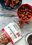 WONDERSNACK THE HANGOVER 150g - Savoury-sweet blend of duck-fat roasted peanuts in maple syrup