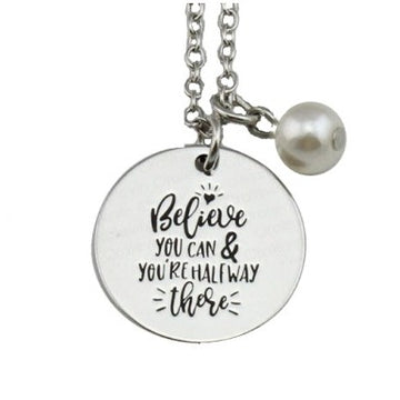 Believe You Can Necklace