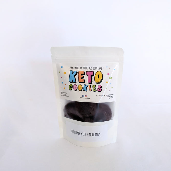 Keto Cookies Chocolate With Macadamia 100gr
