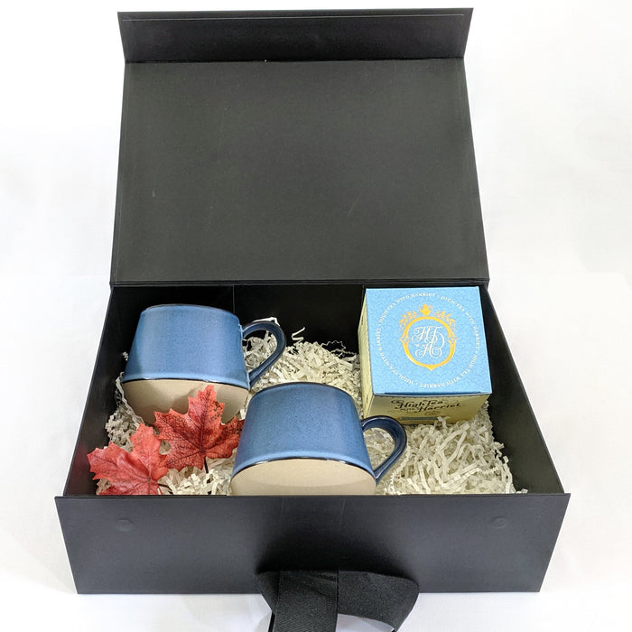 Denim Stoneware Gift Set