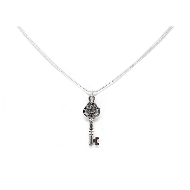 Vintage key for freedom necklace
