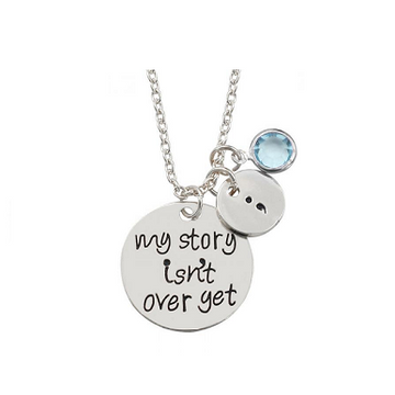My Story Is Not Over Yet Necklace