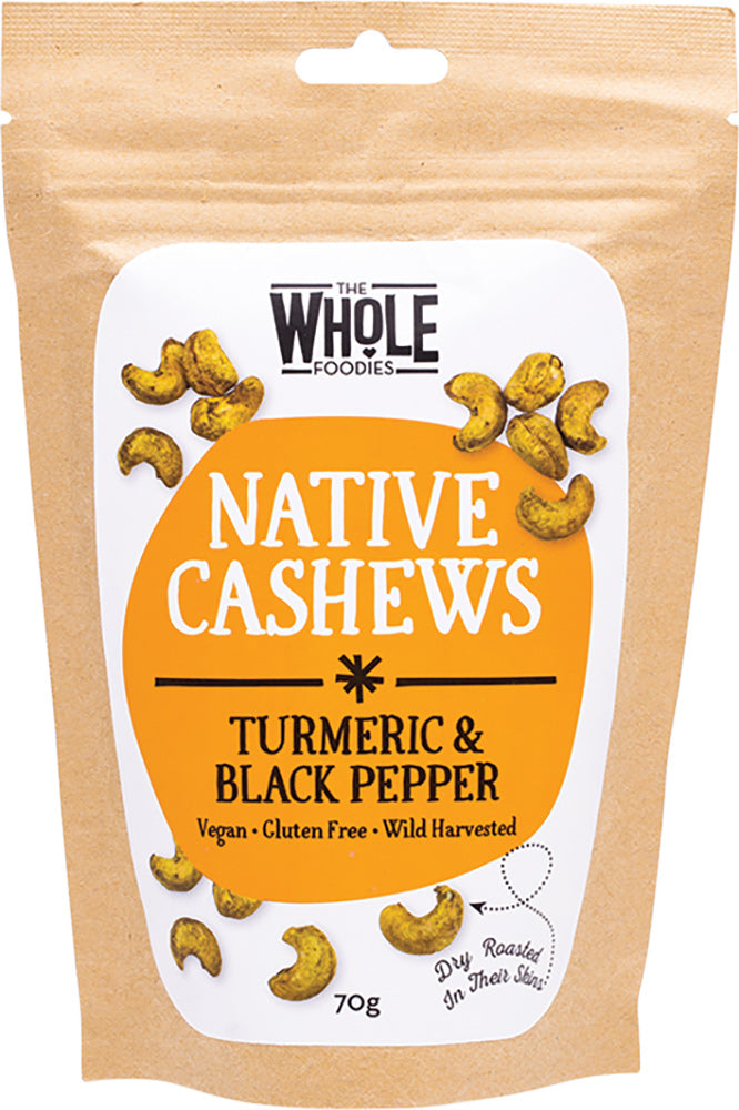 Native Cashews Turmeric & Black Pepper 70g