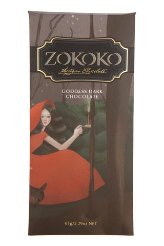 Zokoko Goddess Dark Chocolate 65% 65g