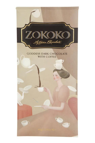Zokoko Goddess Dark Chocolate with Coffee 65g