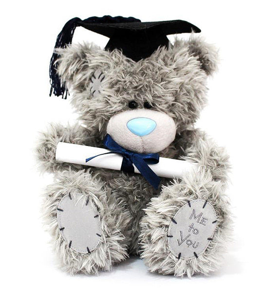 GRADUATION BEAR SITTING 25CM