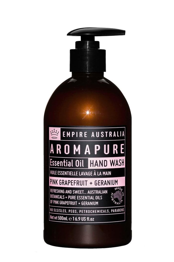 Aromapure Pink Grapefruit & Geranium Hand Wash 500ml