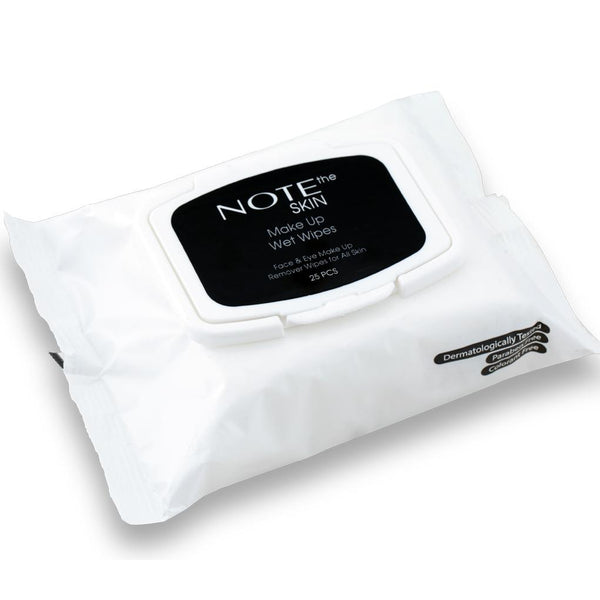 FACE - NOTE MAKEUP REMOVER WIPES