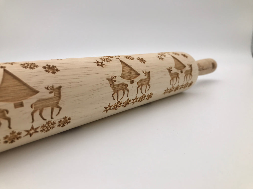 Winter Wonderland Rolling Pin