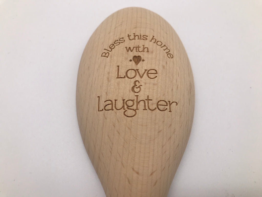 Wooden Spoon: Bless This Home With Love and Laughter