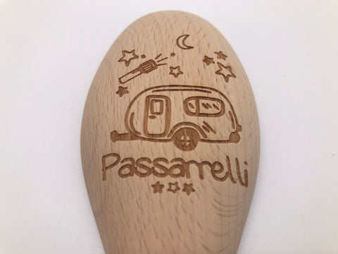 Wooden Spoon: Personalized Wooden Spoon