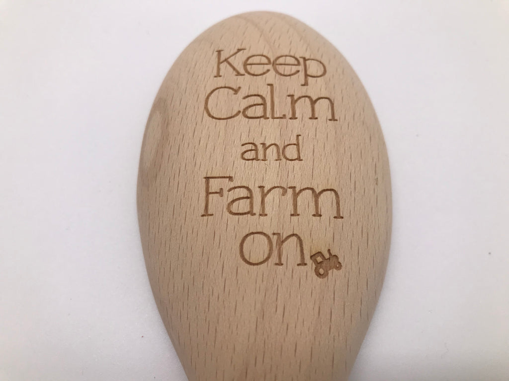 Wooden Spoon: Keep Calm and Farm On