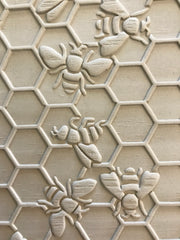 Honeycomb and Bees Rolling Pin