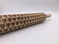 Hearts Rolling Pin (small)
