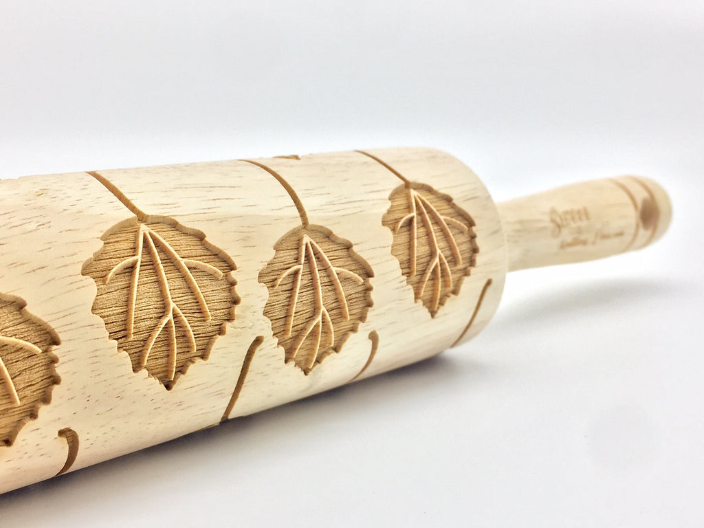 Aspen Leaves Rolling Pin