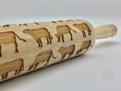Cows Rolling Pin