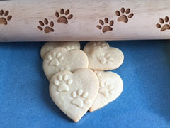 Cat Paws Rolling Pin
