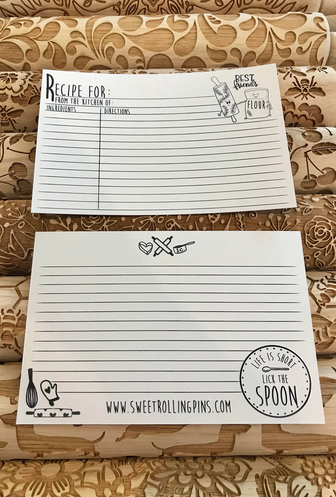 Recipe Cards (Stack of 5)