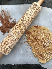 Succulents Rolling Pin