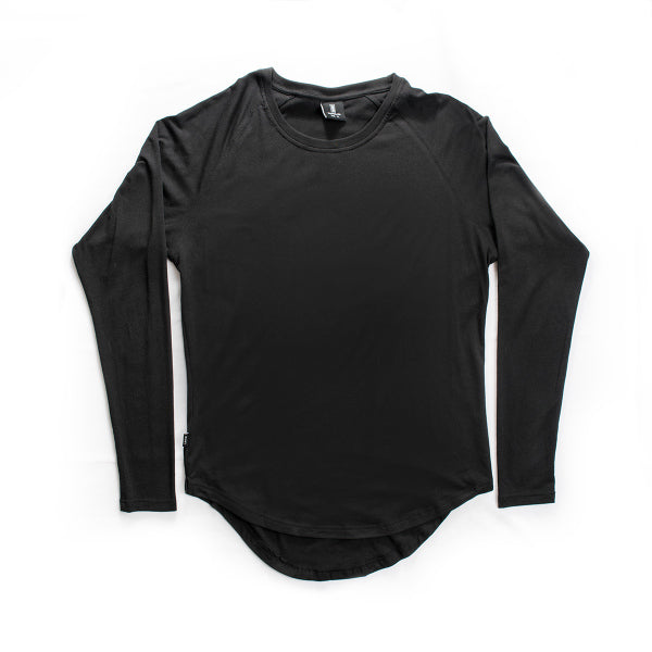 Scoop Long Sleeve Black