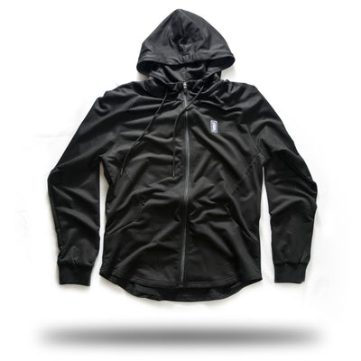 ZIP UP BLACK