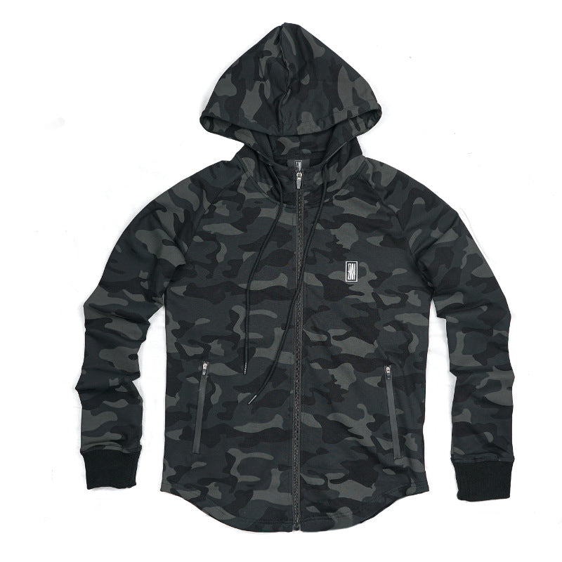 PERFORMANCE ZIP UP CAMO