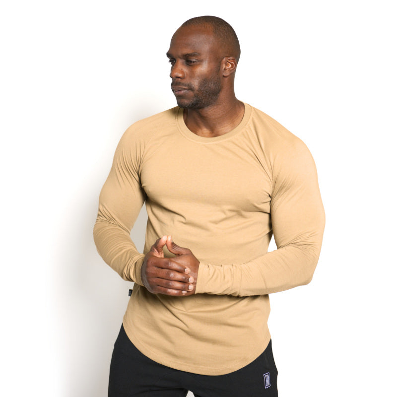 Scoop Long Sleeve Frosted Almond