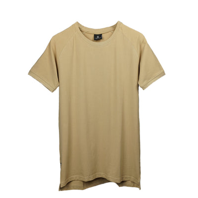 Straight Hem Tee Frosted Almond