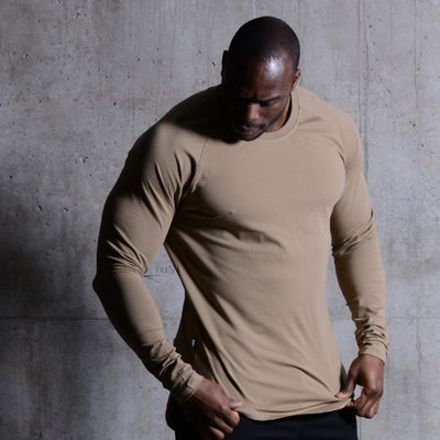 Scoop Long Sleeve Greige