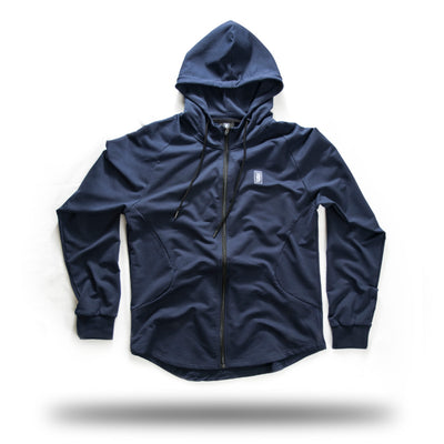 ZIP UP MIDNIGHT BLUE