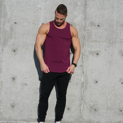 Performance Tank Top Merlot