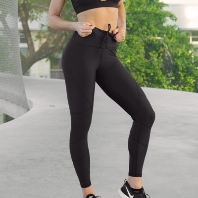 Cinched Leggings Midnight