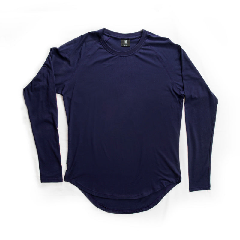 Scoop Long Sleeve Navy