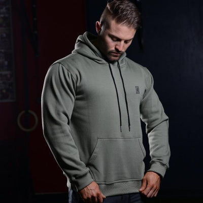 ZIVI Pullover Hoodie Olive Green