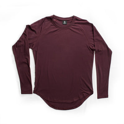 Scoop Long Sleeve Merlot