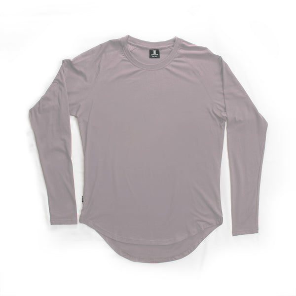 Scoop Long Sleeve Opal Gray