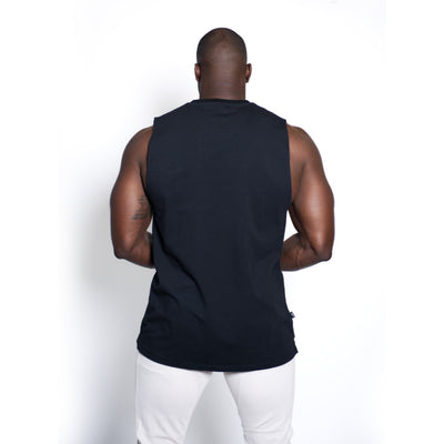 Straight Sleeveless Black