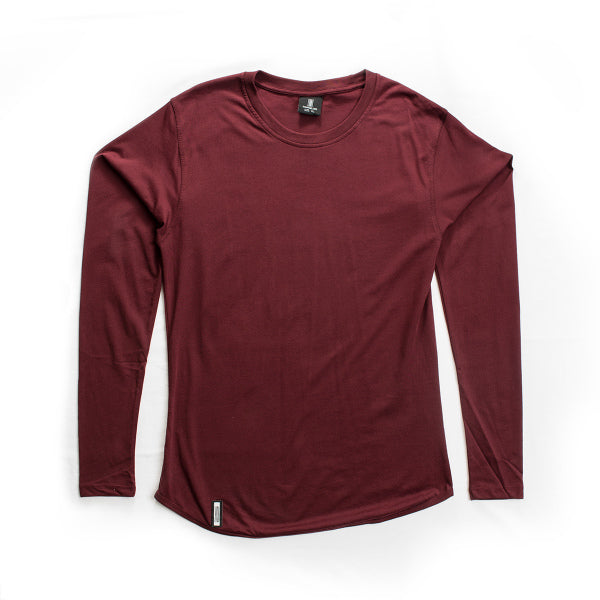 Long Sleeve Burgundy