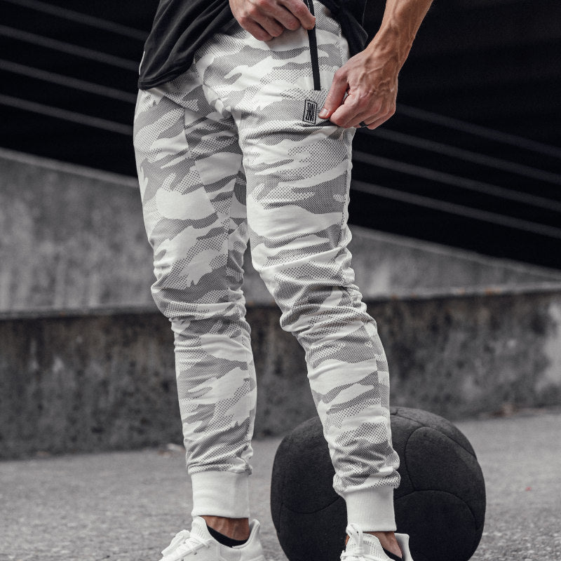 Performance Joggers White Camo