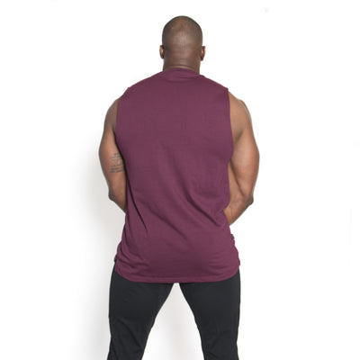 Straight Sleeveless Merlot