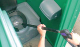 TRL Wand cleaning Port a potty