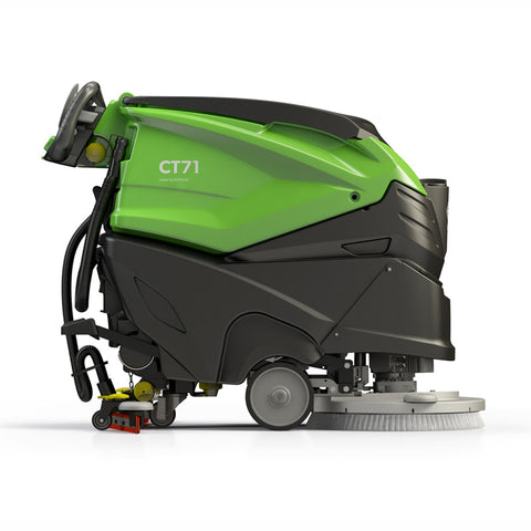 "IPC Eagle CT71 28"" Automatic Scrubber with 140ah AGM Batteries, TRACTION, Actuated Disc Scrub Head CT71XP70-OBC(P or B)-140"
