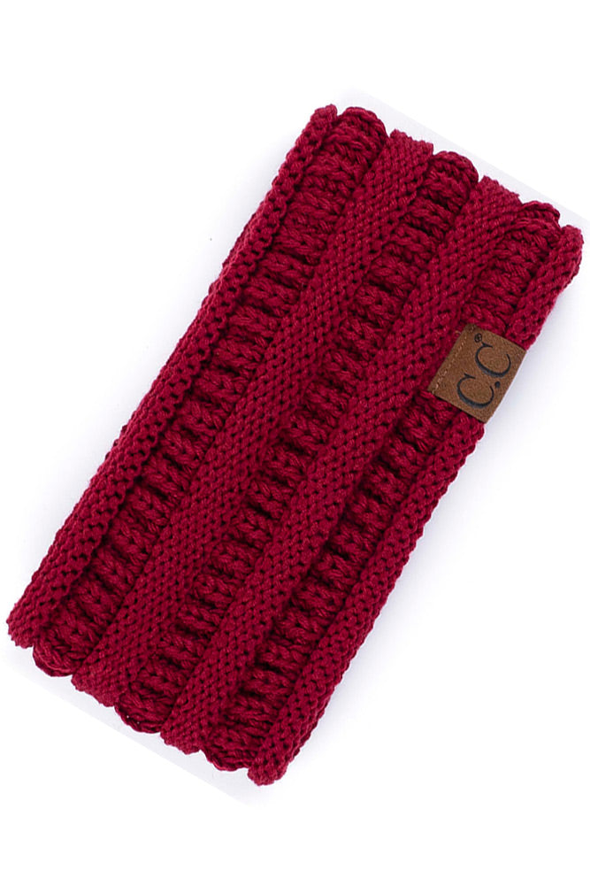 Mountainside Headband in Burgundy